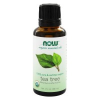 Now Foods, Organic Essential Oils, Tea Tree - 1 fl oz (30 ml)
