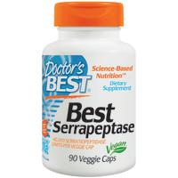 Doctor's Best, Best Serrapeptase, 40000 IU - 90 Veggie Caps