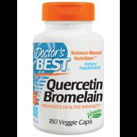 Doctor's Best, Quercetin Bromelain - 180 Veggie Caps