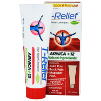 MediNatura, T-Relief, Arnica+12, Pain Relief Ointment - 1.76 oz (50 g)
