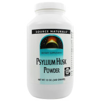Source Naturals, Psyllium Husk Powder - 12 oz (340g)