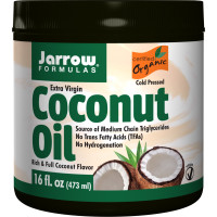 Jarrow Formulas, Organic, Extra Virgin Coconut Oil - 16 oz (473 g)
