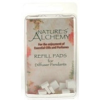 Nature's Alchemy, Diffuser Necklace Refill 10 Pads