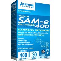 Jarrow Formulas, Natural SAM-e 400, 400 mg - 30 Enteric-Coated Tablets