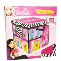 Barbie, ZipBin 40 Doll Dream House Toy Box & Playmat