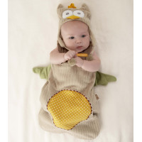 Baby Aspen, My Little Night Owl Snuggle Sack and Cap (0-6 months)