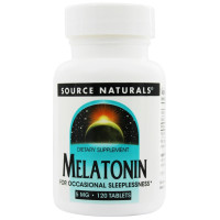 Source Naturals, Melatonin, 5 mg - 120 Tablets