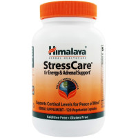 Himalaya Herbal Healthcare, StressCare Geriforte for Energy & Adrenal Support - 120 Vegeta