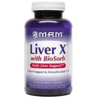 MRM, Liver X with BioSorb - 60 Veggie Caps