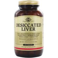 Solgar, Desiccated Liver - 250 Tablets