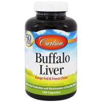 Carlson Labs, Buffalo Liver - 180 Capsules