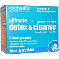 Michael's Naturopathic, Ultimate Detox & Cleanse - 42 Packets