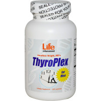Life Enhancement, ThyroPlex for Men - 120 Capsules