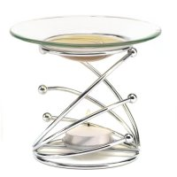 Gifts & Decor, Modern Art Style Tealight Candle Holder Scented with Oil Warmer