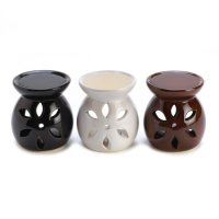 Gifts & Decor, Ceramic Mini Oil Warmer Trio Tealight Candle Holder Set