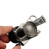 Dragonpad, Ultralight Backpacking Canister Camp Stove with Piezo Ignition - 3.9 oz