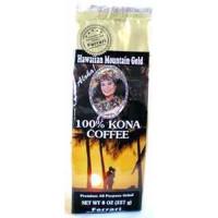 Ferrari Coffee Company, Hawaiian Mountain Gold 100% Kona Coffee, Ground - 8 oz.