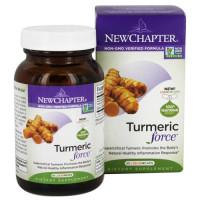 New Chapter, Turmeric Force - 60 Veggie Caps