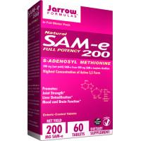 Jarrow Formulas, SAM-e (S-Adenosyl-L-Methionine) 200, 200 mg - 60 Tablets