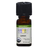 Aura Cacia, Organic, Lemon - 0.25 fl oz (7.4 ml)