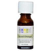 Aura Cacia, 100% Pure Essential Oil, Sweet Orange - 0.5 fl oz (15 ml)