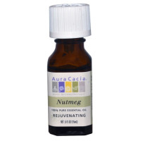 Aura Cacia, 100% Pure Essential Oil, Nutmeg - 0.5 fl oz (15 ml)