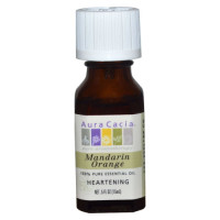 Aura Cacia, 100% Pure Essential Oil, Mandarin Orange, Heartening - 0.5 oz (15 ml)