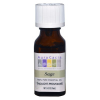 Aura Cacia, 100% Pure Essential Oil, Sage - 0.5 fl oz (15 ml)