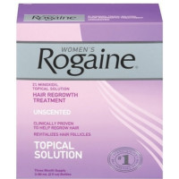 Rogaine, Hair Regrowth Treatment for Women - 2 oz Bottles (Pack of 3)