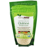 Now Foods, Certified Organic Quinoa, Whole Grain - 16 oz (454 g)