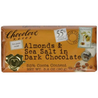 Chocolove, Dark Chocolate Bar Almonds & Sea Salt - 3.2 oz (90 g)