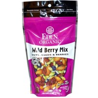 Eden Foods, Organic, Wild Berry Mix, Nuts, Seeds & Berries - 4 oz. (113 g)
