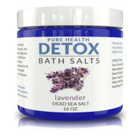 My Diet Chef Detox, Bath Salts. Special Blend of Dead Sea Salt, Lavender, and Coconut Oil