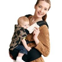 Bebear, Bebamour New Style Designer Sling and Baby Carrier 2 in 1 (Dark Blue)