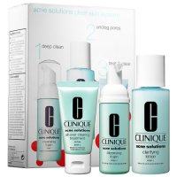 Clinique, Acne Solutions Clear Skin Starter Kit - 3 piece Set