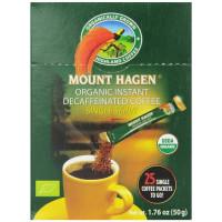 Mount Hagen, Organic Instant Decaffeinated Coffee - 25 Count Single Serve Sticks