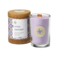 Root, Scented Seeking Balance Relax Candle, Geranium Lavender