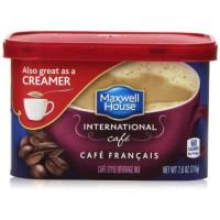Maxwell House, International Coffee, Cafe Francais - 7.6 oz (216 g) x 2 Packs