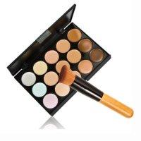 LEFV, Professional 15 Color Concealer Camouflage Makeup Pale