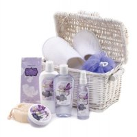 Blueberry, Scented Bath and Body Basket Set