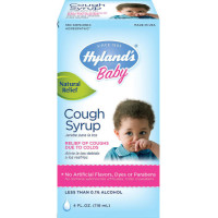 Hyland's Baby, Cough Syrup, Natural Cough and Cold Relief - 4 ounce