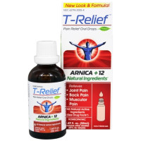 MediNatura, T-Relief, Arnica+12, Pain Relief Oral Drops - 1.69 fl oz (50 ml)