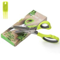 TPK, Multi-Blades Scissors with Cleaning Brush