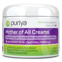 Puriya, Mother of All Creams, Powerful 13-in-1 Natural Formula Cream - 4.5 oz