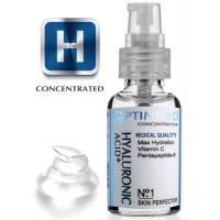 OPTIMIZED, Best Anti Aging Vitamin C Serum with Hyaluronic Acid & Pentapeptide Face Perfec