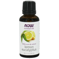 Now Foods, Essential Oils, Lemon Eucalyptus - 1 fl oz (30 ml)