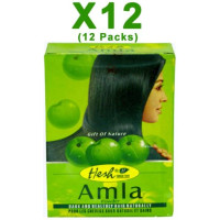 Hesh Pharma, Amla Hair Powder - 3.5 oz (12 Packs)