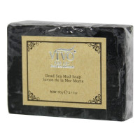 Vivo Per Lei, Dead Sea Mud Soap Bar for Softness and Freshness - 3.17 oz (90 gr)