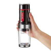 Barsetto, Portable Espresso Coffee Machine Tripresso Hand Pressure Mini Coffee Maker - Bla