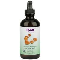 Now Foods, 100% Pure & Certified Organic Argan Oil - 2 fl oz (59 ml)
